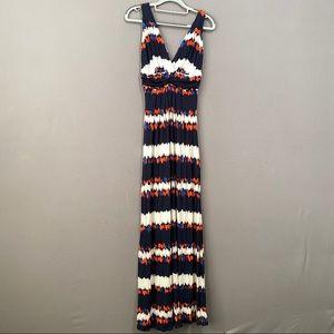 TART double vneck summer maxi dress size S